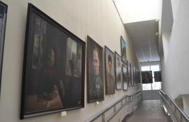 В Республиканском музее Боевой Славы открылась выставка «Портреты войны»