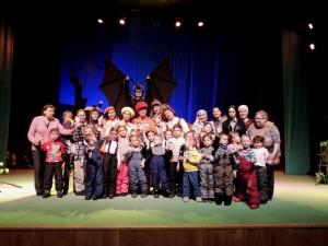 Проект «Погуляй со мной» вновь посетил Молодёжный театр