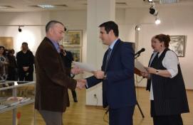 В Уфе состоялось торжественное открытие выставки работ номинантов на соискание Госпремии РБ имени М.В. Нестерова
