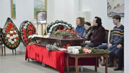 In Ufa sayed last goodbye to the deserved artist of the Russian Federation Pavel Salmasov