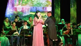 "In Bashgosfilarmoniya held a concert of Minzifa Iskuzhina and pop group ""Dalan"""