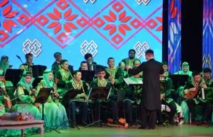 "In Bashgosfilarmoniya held a concert of Minzifa Iskuzhina and pop group ""Dalan"""