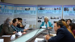 """there is a conference """"The relevance and historical significance of the scientific-artistic and journalistic activities of Mukhametsalim Umetbaev"""" in Ufa"""