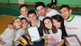 Определены лучшие волейболисты среди театров Уфы