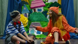 Выставочный зал «Ижад» приглашает на детский спектакль