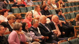 The Bashkir State M.Gafuri drama theater's collective returned from holiday