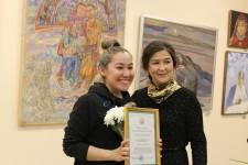 """Открытие выставки """"Многоцветие традиций"""""""