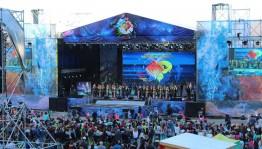 """Иң күләмле мәҙәни сараларҙың береһе- """"Евразия йөрәге"""" фестивале тамамланды"""
