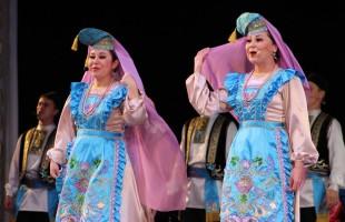Всероссийский фестиваль хоров, ансамблей песни и танца «Голоса России» завершился большой концертной программой ансамбля «Мирас»