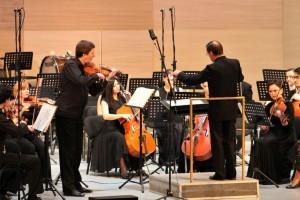 Сегодня Национальный симфонический оркестр презентовал второй концерт проекта «QUINTA»
