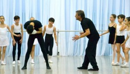 The Bashkir Choreography College prepares the premiere of the The Snow Queen ballet