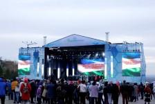 Концерт open-air ко Дню Республики в уфимском амфитеатре
