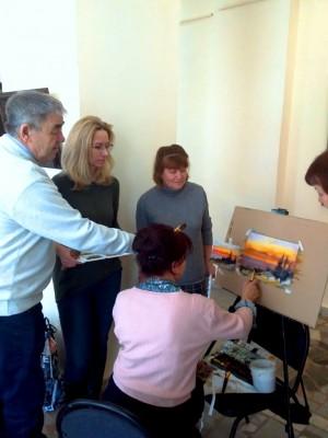 Выставочный зал «Ижад» приглашает на мастер-классы по живописи и фильцеванию