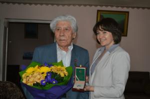Писатель Расих Ханнанов удостоен ордена Дружбы народов Республики Башкортостан