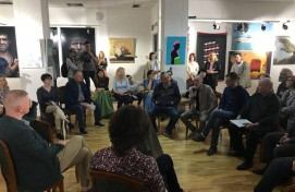 "Within the framework of the exhibition ""Actual Russia: Playing Classics"" in Ufa discussed the issues of contemporary art"