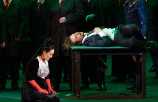 """Bashkir State Opera and Ballet theater presented the """"Faust"""" opera in Bolshoi theater"""