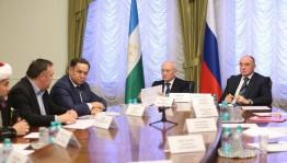 Глава Башкортостана Рустэм Хамитов встретился с башкирской общественностью  Челябинской области