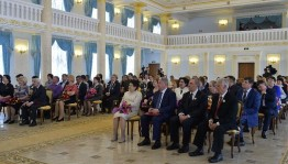 Head of Bashkortostan Rustem Khamitov presented state awards of the Russian Federation and the Republic of Bashkortostan