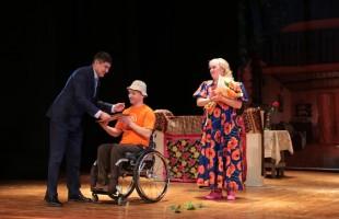 Инклюзивный народный художественный театр «Статус» представил в Уфе постановку «Прибайкальская Кадриль»