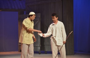 """The premiere of the play """"A Long, Long Childhood"""" based on the book of Mustai Karim of the same name took place in Ufa"""