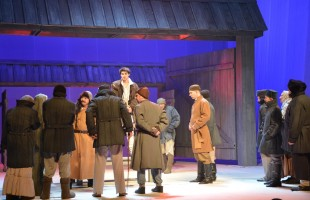 "The premiere of the play ""A Long, Long Childhood"" based on the book of Mustai Karim of the same name took place in Ufa"