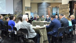 "A round table on the theme ""The role of the resistance movement in liberating Europe from Nazism"" was held in Ufa"
