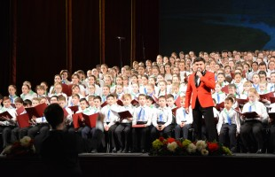 The children's choir of Bashkortostan dedicated a concert to the centenary of the republic