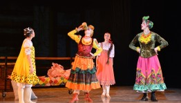 "The premiere of the ballet ""Morozko"" held in Ufa"
