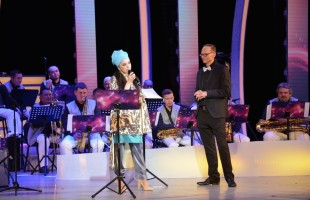The 20th anniversary of the Pop and Jazz Orchestra conducted by Oleg Kasimov was celebrated in Ufa