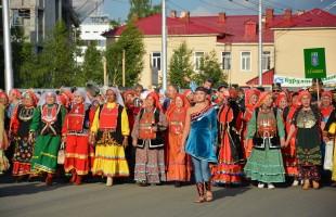 В Уфе к Празднику национального костюма присоединилось более трех тысяч человек