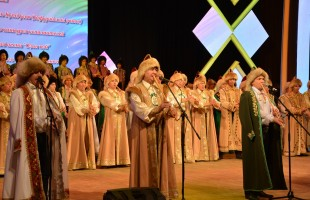 "The festival of folk groups of amateur artistic creativity ""Inflorescence of friendship"" ended in Ufa"