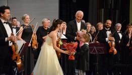 В рамках Фестиваля «Владимир Спиваков приглашает…» в Уфе выступила скрипачка из Испании Мария Дуэньяс