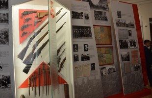 "In the National Museum was opened the exposition ""The Revolution of 1917. Civil war and education of the Bashkir Republic """