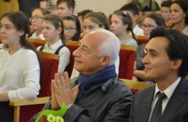 Маэстро Владимир Спиваков встретился с юными талантами Башкортостана