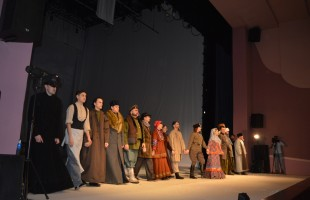 "In the theater ""Nur"" they discussed the pre-premiere show of the play ""Exodus"""