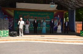Артисты Сибайского концертно-театрального объединения приняли участие в Сабантуе в Саратовской области