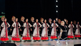 The folk dance ensemble of Fayzi Gaskarov has been touring in Brazil with great success
