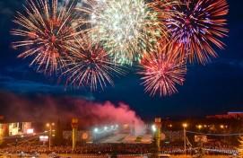 Праздничные мероприятия Уфы, приуроченные к 73-й годовщине Великой Победы