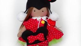 Посетите мастер-класс по созданию интерьерной куклы