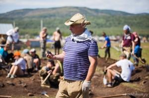 В Абзелиловском районе найден один из самых крупных каменных курганов Урала