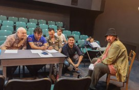 """The Bashkir State Academic Drama Theater Mazhit Gafuri is working on the premiere by the M.Karim's play """"The girl's kidnapping"""""""
