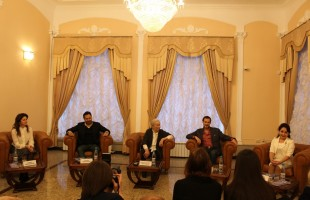 "In Ufa, a concert-presentation of the book Milyausha Idrisova ""Creativity - a synonym for happiness Dialogues with Professor M. G. Murtazina held"