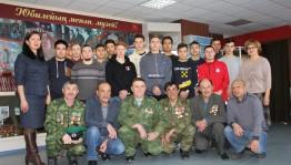 В Сибае состоялась встреча воинов-интернационалистов со студентами педколледжа
