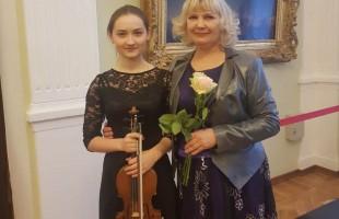 В БГХМ им. М. Нестерова состоялся концерт скрипичной музыки