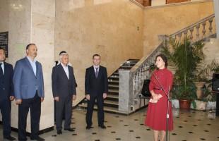 """В Национальном музее состоялось торжественное открытие выставки """"Шаймуратов-генерал..."""""""