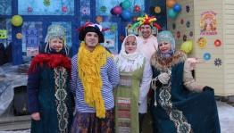 В Уфимской ЦГБ прошёл фольклорный праздник «Гуляй, Масленица!»