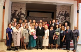 "The Bashkir delegations from Russian subjects have visited the special presentation of ""The First Republic"" film by B.Yusupov"