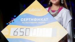 """Zemfira Rashitova from Ufa received the grant on the """"Tavrida 5.0"""" forum"""