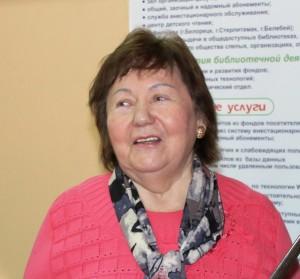 БРСБС приглашает на творческую встречу с поэтессой, заслуженным работником культуры РБ Фанией Набиуллиной
