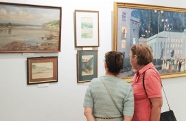 """Favourite city"" exhibition is opened at the National museum of Bashkortostan"